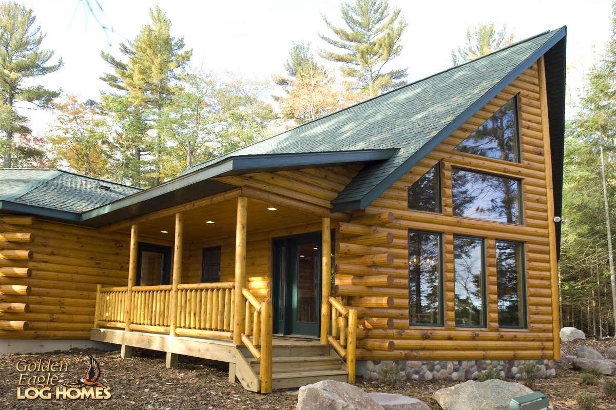 Building A Beautiful Log Home Has Never Been Easier Click